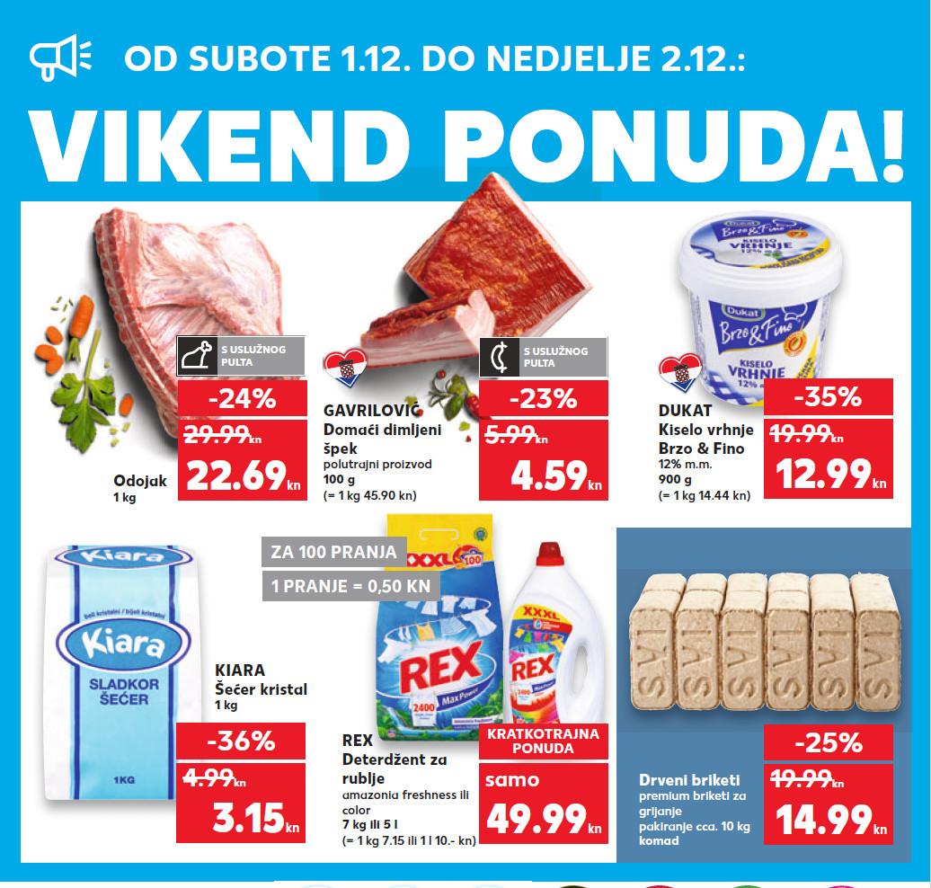 Nova vikend akcija od 01.- 02.12.2018. u Kaufland supermarketima.