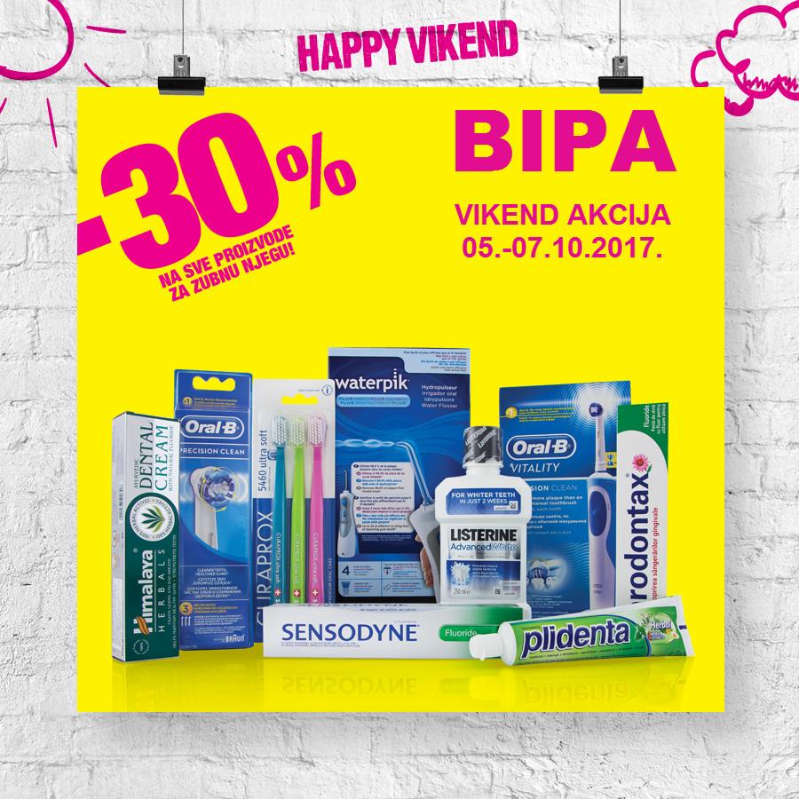 Nova Happy vikend akcija od 05.- 07.10.2017. u BIPA drogerijama!
